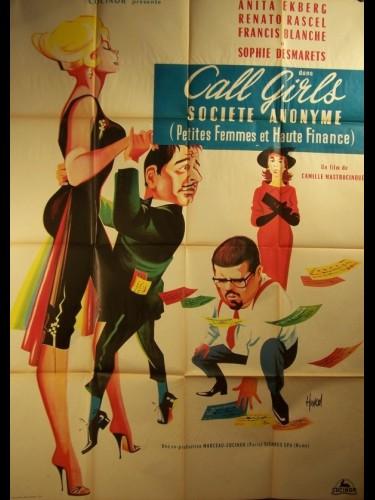 Affiche du film PETITES FEMMES ET HAUTES FINANCES - ANONIMA COCOTTES