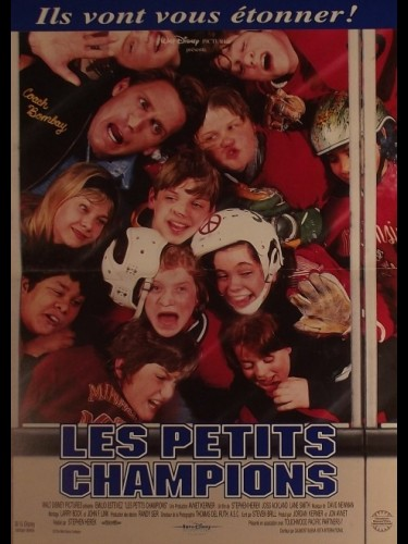 Affiche du film PETITS CHAMPIONS (LES) - THE MIGHTY DUCKS