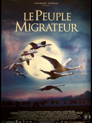 Affiche du film PEUPLE MIGRATEUR (LE) - WINGED MIGRATION
