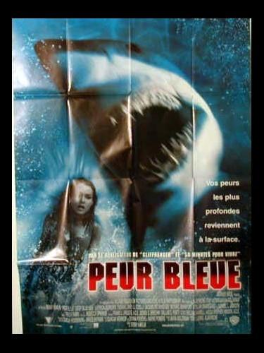 Affiche du film PEUR BLEU