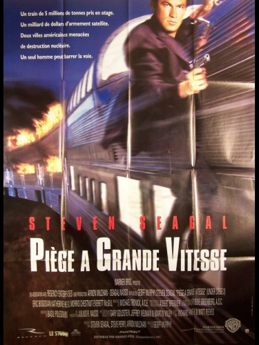 Affiche du film PIEGE A GRANDE VITESSE - UNDER SIEGE 2: DARK TERRITORY