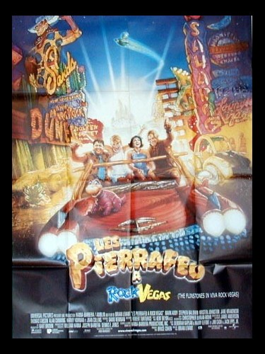 Affiche du film PIERRAFEU A ROCK VEGAS (LES) - THE FLINTSTONES IN VIVA ROCK VEGAS