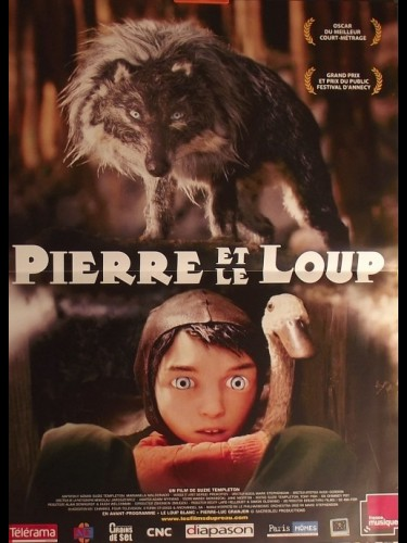 Affiche du film PIERRE ET LE LOUP - PETER & THE WOLF
