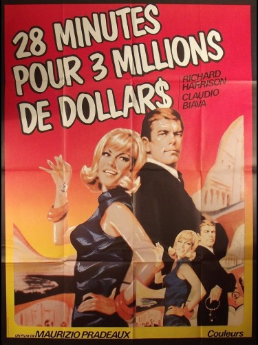 Affiche du film 28 MINUTES POUR 3 MILLIONS DE DOLLARS - 28 MINUTI PER 3 MILIONI DI DOLLARI