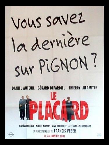 Affiche du film PLACARD (PREVENTIVE ) (LE)