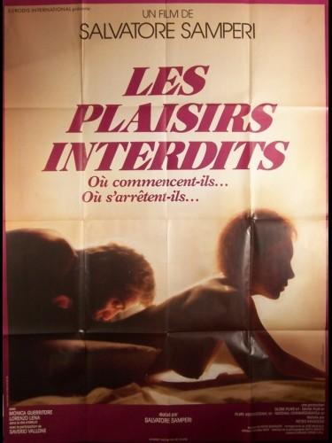 Affiche du film PLAISIRS INTERDITS (LES) - FOTOGRAFANDO PATRIZIA