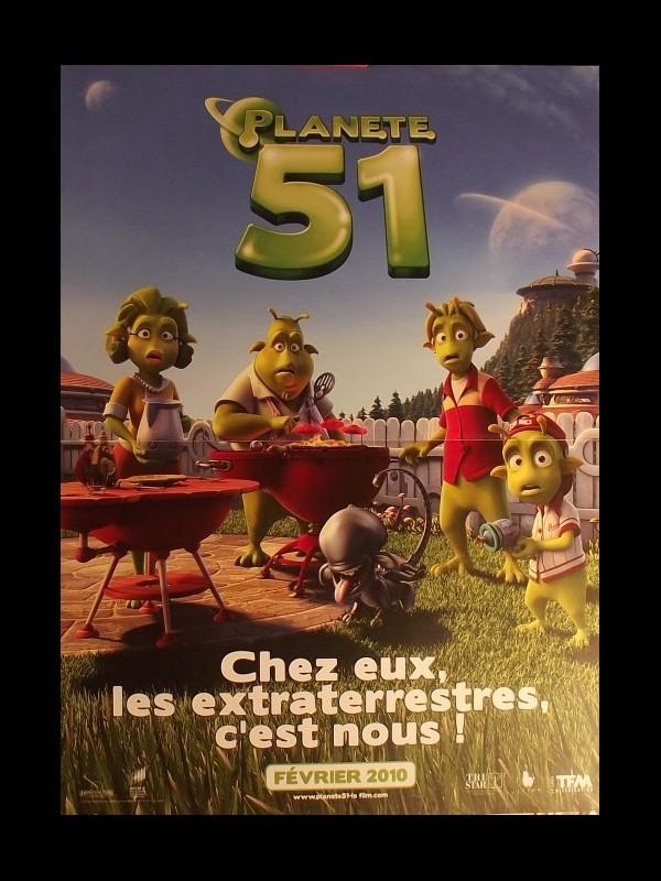 Affiche du film PLANETE 51
