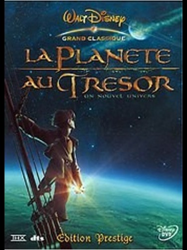 Affiche du film PLANETE AU TRESOR (LA) ( DISNEY) - TREASURE PLANET