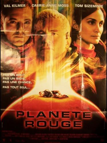 Affiche du film PLANETE ROUGE