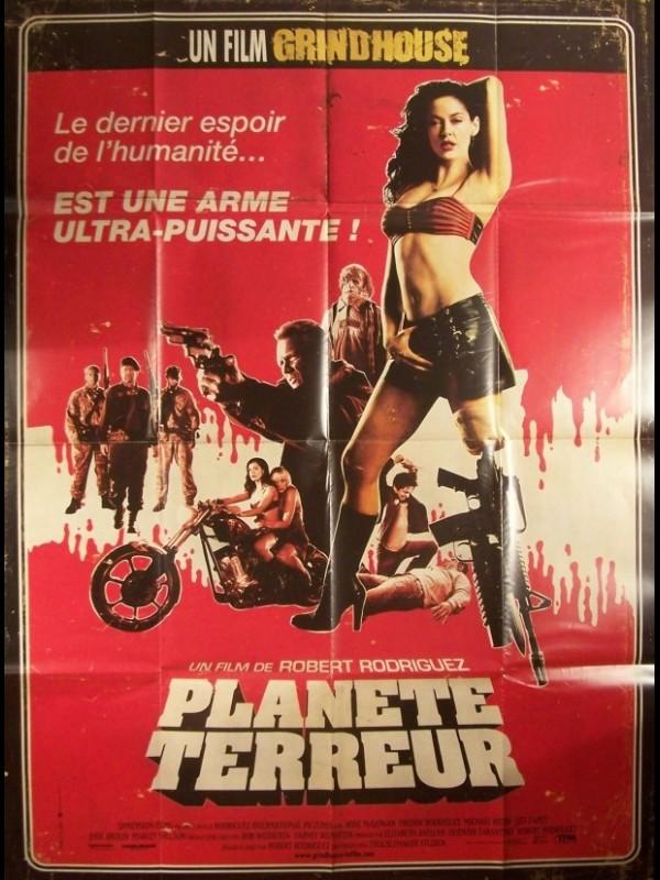 Affiche du film PLANETE TERREUR - PLANET TERROR