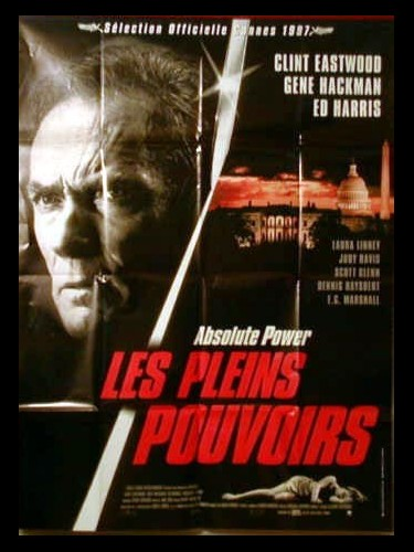 Affiche du film PLEINS POUVOIRS (LES) - ABSOLUTE POWER