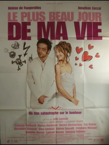 Affiche du film PLUS BEAU JOUR DE MA VIE (LE)