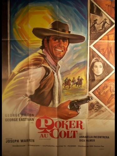 Affiche du film POKER AU COLT - POKER DI PISTOLE
