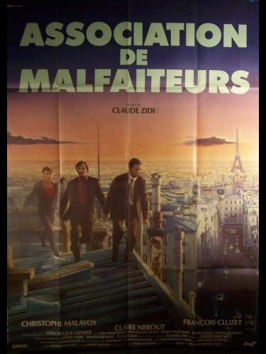 Affiche du film ASSOCIATION DE MALFAITEURS