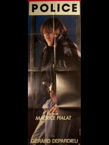 Affiche du film POLICE (GERARD DEPARDIEU)