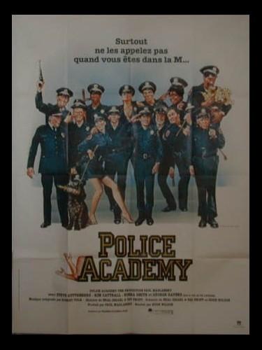 Affiche du film POLICE ACADEMY 1