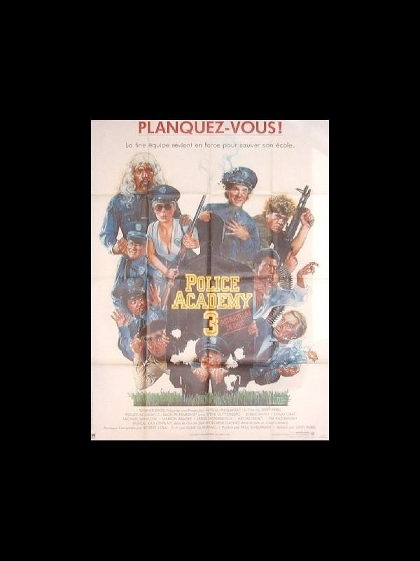 Affiche du film POLICE ACADEMY 3