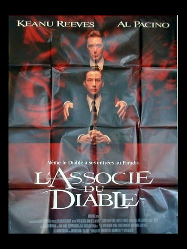 Affiche du film ASSOCIE DU DIABLE (L') - THE DEVIL'S ADVOCATE