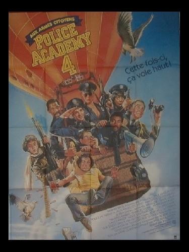 Affiche du film POLICE ACADEMY 4