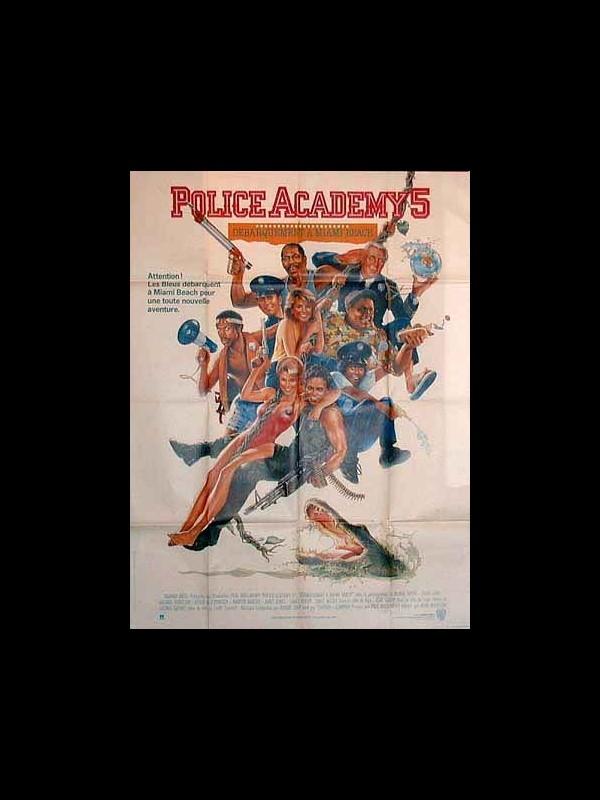 Affiche du film POLICE ACADEMY 5