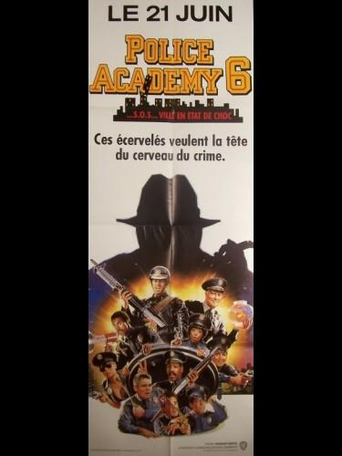 Affiche du film POLICE ACADEMY 6
