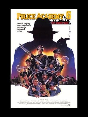 Affiche du film POLICE ACADEMY 6 : S.O.S VILLE EN ETAT DE CHOC