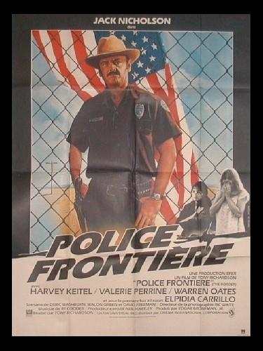 Affiche du film POLICE FRONTIERE