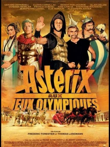 Affiche du film ASTERIX AUX JEUX OLYMPIQUES