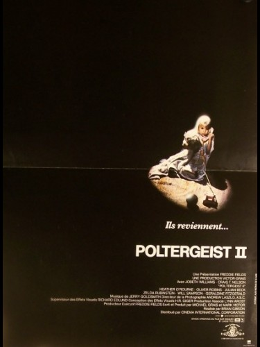 Affiche du film POLTERGEIST 2