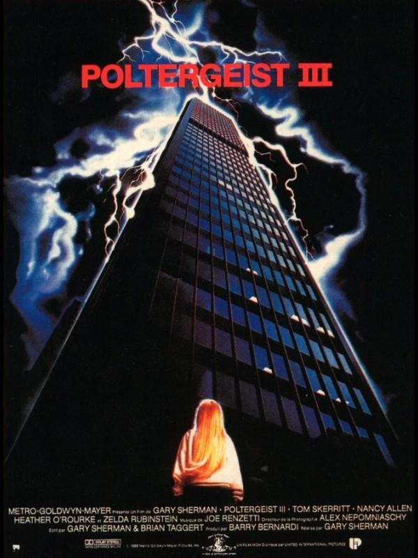 Affiche du film POLTERGEIST 3 - POLTERGEIST 3