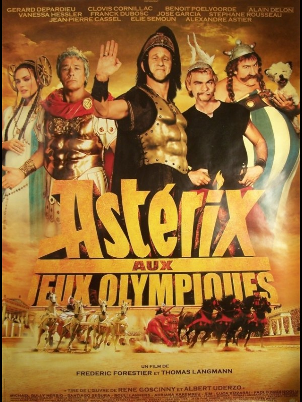 Affiche du film ASTERIX AUX JEUX OLYMPIQUES - ASTERIX AT THE OLYMPIC GAMES