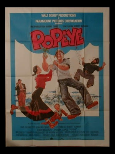 Affiche du film POPEYE - POPEYE
