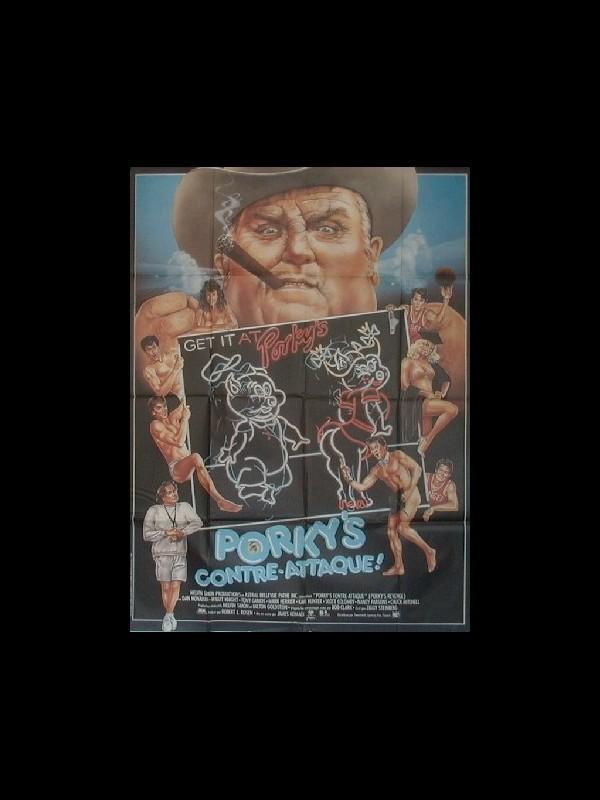 Affiche du film PORKY'S CONTRE ATTAQUE - PORKY'S REVENGE