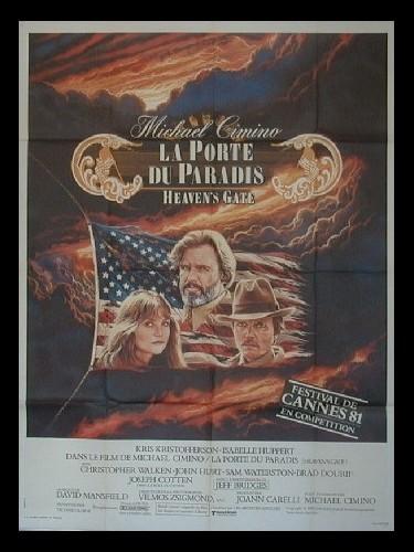 Affiche du film PORTE DU PARADIS (LA) - HEAVEN'S GATE