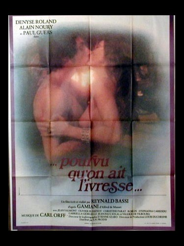 Affiche du film POURVU QU'ON AIT L'IVRESSE