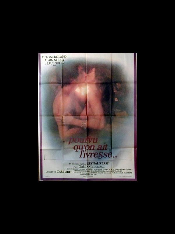 Affiche du film POURVU QU'ON AIT L'IVRESSE