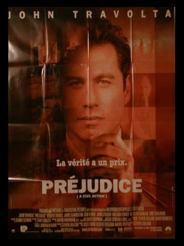Affiche du film PREJUDICE - A CIVIL ACTION