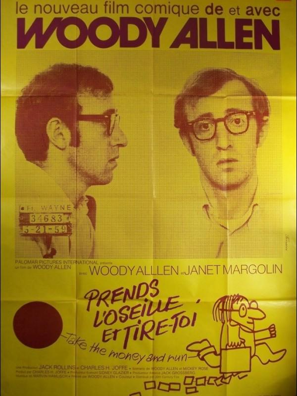 Affiche du film PRENDS L'OSEILLE ET TIRE TOI - TAKE THE MONEY AND RUN