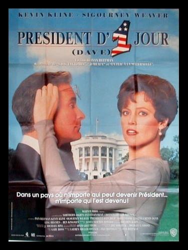Affiche du film PRESIDENT D'UN JOUR - DAVE