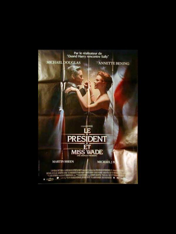 Affiche du film PRESIDENT ET MISS WADE (LE)