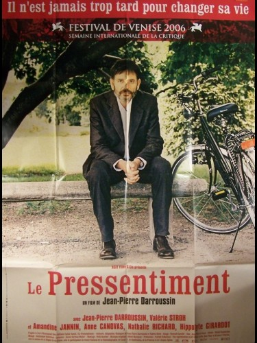 Affiche du film PRESSENTIMENT (LE)