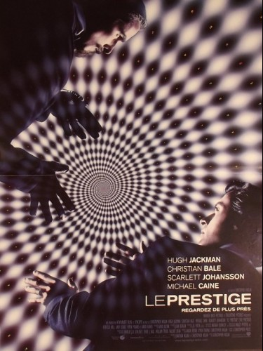 Affiche du film PRESTIGE (LE) - THE PRESTIGE