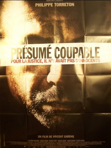 Affiche du film PRESUME COUPABLE