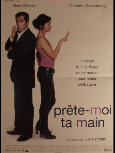 Affiche du film PRETE-MOI TA MAIN - I DO