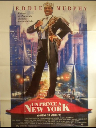 Affiche du film PRINCE A NEW YORK (UN) - COMING TO AMERICA