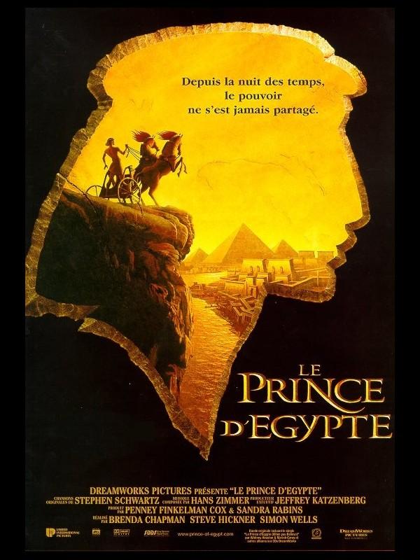 Affiche du film PRINCE D'EGYPTE (LE) - THE PRINCE OF EGYPT