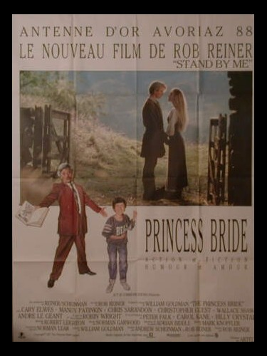 Affiche du film PRINCESS BRIDE - PRINCESS BRIDE