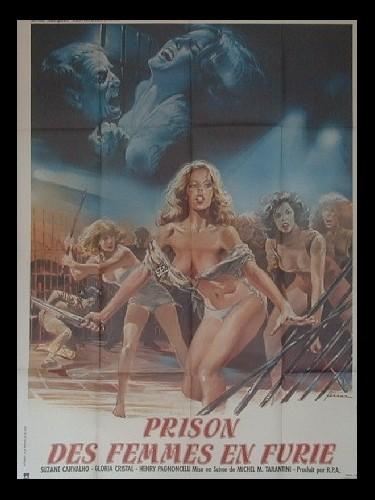 Affiche du film PRISON DE FEMMES EN FURIE