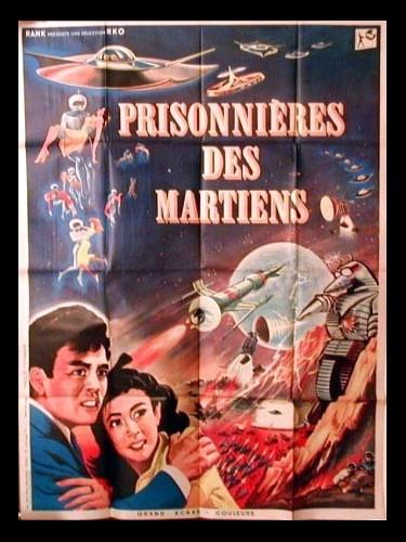 Affiche du film PRISONNIERES DES MARTIENS - CHIKYÛ BÔEIGUN