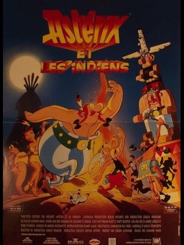 Affiche du film ASTERIX ET LES INDIENS